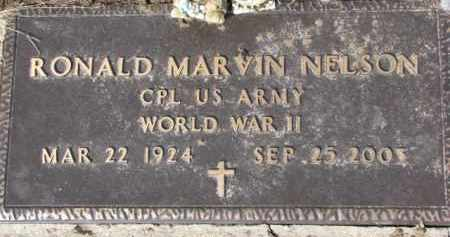 NELSON, RONALD MARVIN (WWII MARKER) - Dixon County, Nebraska   RONALD MARVIN (WWII MARKER) NELSON - Nebraska Gravestone Photos