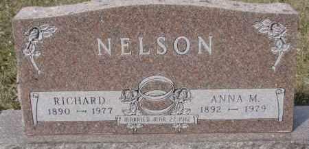 NELSON, ANNA M. - Dixon County, Nebraska | ANNA M. NELSON - Nebraska Gravestone Photos