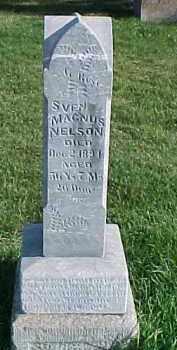 NELSON, SVEN MAGNUS - Dixon County, Nebraska   SVEN MAGNUS NELSON - Nebraska Gravestone Photos