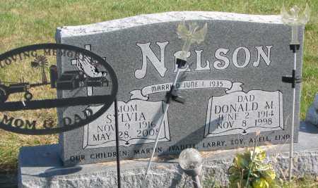 NELSON, DONALD M. - Dixon County, Nebraska | DONALD M. NELSON - Nebraska Gravestone Photos