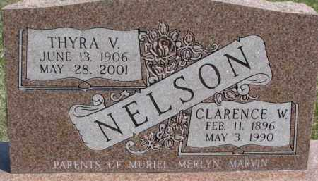 NELSON, THYRA V. - Dixon County, Nebraska | THYRA V. NELSON - Nebraska Gravestone Photos