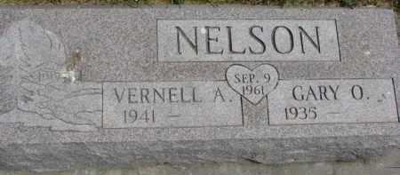 NELSON, GARY O. - Dixon County, Nebraska | GARY O. NELSON - Nebraska Gravestone Photos