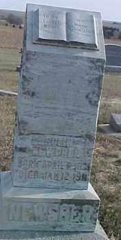 NEWGREN, CAROLINE - Dixon County, Nebraska | CAROLINE NEWGREN - Nebraska Gravestone Photos
