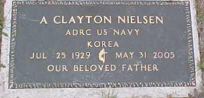 NIELSON, A. CLAYTON - Dixon County, Nebraska   A. CLAYTON NIELSON - Nebraska Gravestone Photos