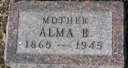NOE, ALMA B. - Dixon County, Nebraska | ALMA B. NOE - Nebraska Gravestone Photos