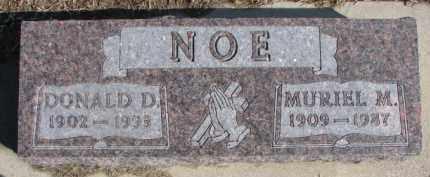 NOE, MURIEL M. - Dixon County, Nebraska   MURIEL M. NOE - Nebraska Gravestone Photos