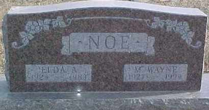 NOE, ELDA A. - Dixon County, Nebraska | ELDA A. NOE - Nebraska Gravestone Photos