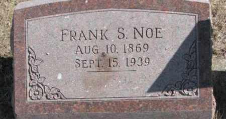 NOE, FRANK S. - Dixon County, Nebraska | FRANK S. NOE - Nebraska Gravestone Photos