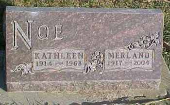 NOE, KATHLEEN - Dixon County, Nebraska | KATHLEEN NOE - Nebraska Gravestone Photos