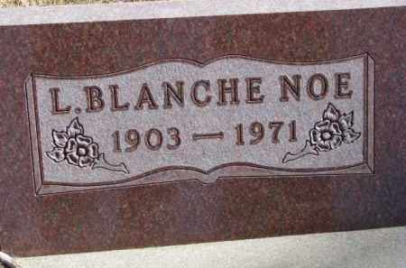 NOE, L. BLANCHE - Dixon County, Nebraska | L. BLANCHE NOE - Nebraska Gravestone Photos