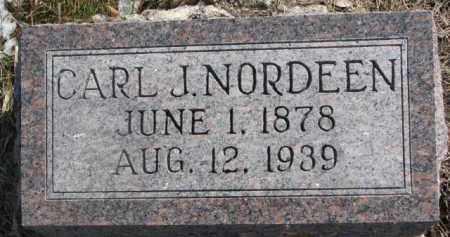 NORDEEN, CARL J. - Dixon County, Nebraska | CARL J. NORDEEN - Nebraska Gravestone Photos