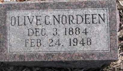 JOHNSON NORDEEN, OLIVE C. - Dixon County, Nebraska | OLIVE C. JOHNSON NORDEEN - Nebraska Gravestone Photos