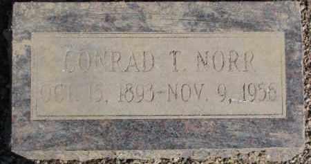 NORR, CONRAD T. - Dixon County, Nebraska | CONRAD T. NORR - Nebraska Gravestone Photos