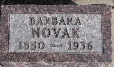 NOVAK, BARBARA - Dixon County, Nebraska | BARBARA NOVAK - Nebraska Gravestone Photos