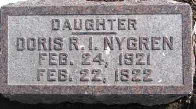 NYGREN, DORIS R.I. - Dixon County, Nebraska | DORIS R.I. NYGREN - Nebraska Gravestone Photos