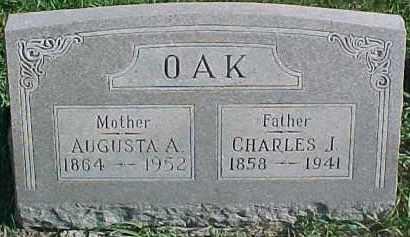 OAK, CHARLES J. - Dixon County, Nebraska | CHARLES J. OAK - Nebraska Gravestone Photos