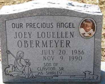 OBERMEYER, JOEY LOUELLEN - Dixon County, Nebraska | JOEY LOUELLEN OBERMEYER - Nebraska Gravestone Photos