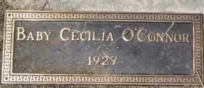 O'CONNOR, CECILIA - Dixon County, Nebraska | CECILIA O'CONNOR - Nebraska Gravestone Photos