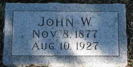 O'CONNOR, JOHN W. - Dixon County, Nebraska   JOHN W. O'CONNOR - Nebraska Gravestone Photos