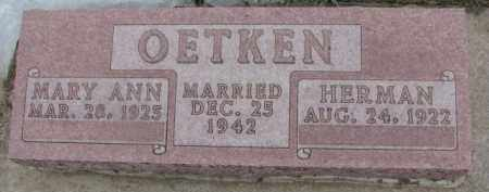 OETKEN, HERMAN - Dixon County, Nebraska | HERMAN OETKEN - Nebraska Gravestone Photos