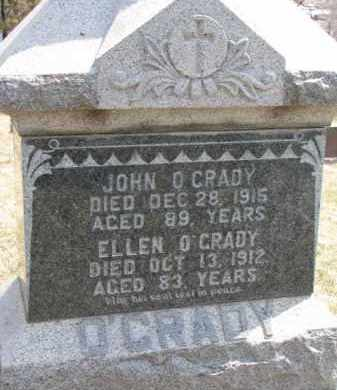 O'GRADY, ELLEN - Dixon County, Nebraska | ELLEN O'GRADY - Nebraska Gravestone Photos