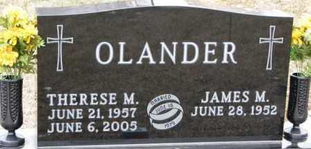 OLANDER, THERESE M. - Dixon County, Nebraska   THERESE M. OLANDER - Nebraska Gravestone Photos
