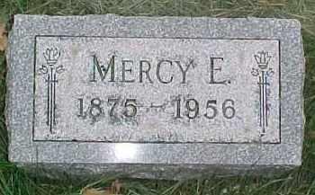 OLIVER, MERCY E. - Dixon County, Nebraska   MERCY E. OLIVER - Nebraska Gravestone Photos