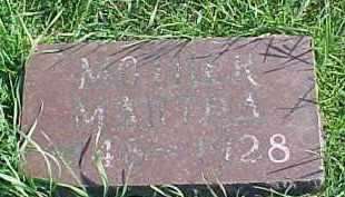 OLIVER, MARTHA JANE - Dixon County, Nebraska | MARTHA JANE OLIVER - Nebraska Gravestone Photos
