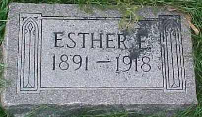 LARSON, ESTHER ELIZABETH - Dixon County, Nebraska | ESTHER ELIZABETH LARSON - Nebraska Gravestone Photos