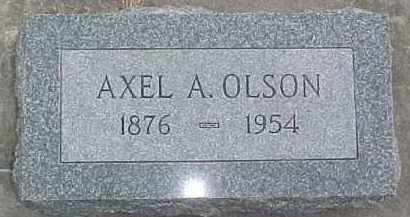 OLSON, AXEL A. - Dixon County, Nebraska | AXEL A. OLSON - Nebraska Gravestone Photos