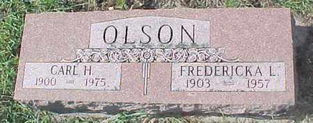 OLSON, FREDERICKA L. - Dixon County, Nebraska | FREDERICKA L. OLSON - Nebraska Gravestone Photos