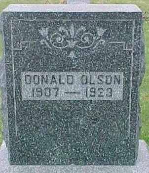 OLSON, DONALD - Dixon County, Nebraska | DONALD OLSON - Nebraska Gravestone Photos