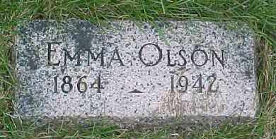 OLSON, EMMA - Dixon County, Nebraska   EMMA OLSON - Nebraska Gravestone Photos