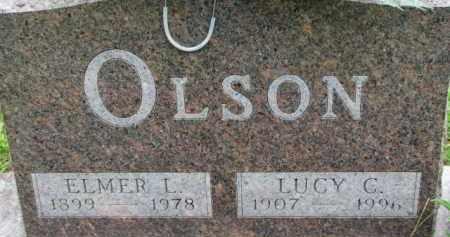 OLSON, ELMER L. - Dixon County, Nebraska | ELMER L. OLSON - Nebraska Gravestone Photos