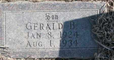 OLSON, GERALD B. - Dixon County, Nebraska   GERALD B. OLSON - Nebraska Gravestone Photos