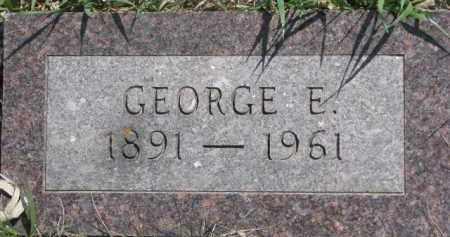 OLSON, GEORGE E. - Dixon County, Nebraska | GEORGE E. OLSON - Nebraska Gravestone Photos