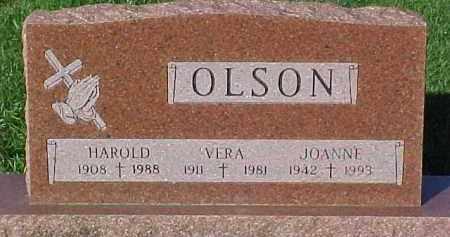 OLSON, HAROLD - Dixon County, Nebraska   HAROLD OLSON - Nebraska Gravestone Photos