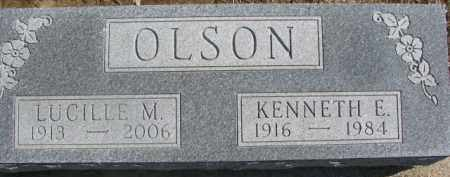 OLSON, LUCILLE M. - Dixon County, Nebraska | LUCILLE M. OLSON - Nebraska Gravestone Photos