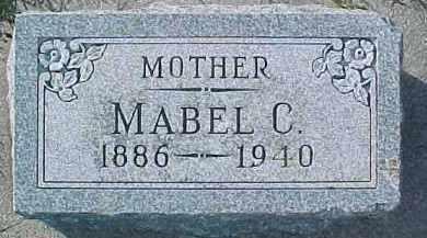OLSON, MABEL C. - Dixon County, Nebraska   MABEL C. OLSON - Nebraska Gravestone Photos