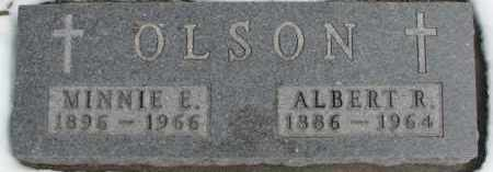 OLSON, MINNIE E. - Dixon County, Nebraska | MINNIE E. OLSON - Nebraska Gravestone Photos