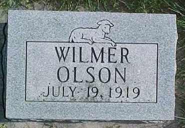 OLSON, WILMER - Dixon County, Nebraska   WILMER OLSON - Nebraska Gravestone Photos