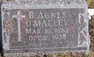 O'MALLEY, B. AGNES - Dixon County, Nebraska | B. AGNES O'MALLEY - Nebraska Gravestone Photos