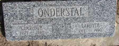 ONDERSTAL, CLARENCE - Dixon County, Nebraska | CLARENCE ONDERSTAL - Nebraska Gravestone Photos