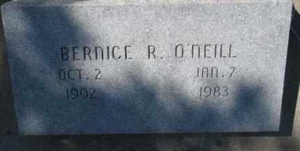 O'NEILL, BERNICE R. - Dixon County, Nebraska | BERNICE R. O'NEILL - Nebraska Gravestone Photos