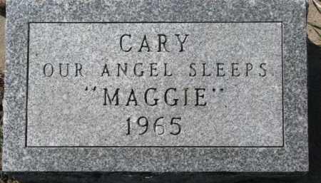 "O'NEILL, CARY ""MAGGIE"" - Dixon County, Nebraska | CARY ""MAGGIE"" O'NEILL - Nebraska Gravestone Photos"