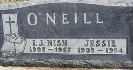 O'NEILL, JESSIE - Dixon County, Nebraska   JESSIE O'NEILL - Nebraska Gravestone Photos