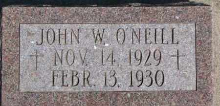 O'NEILL, JOHN W. - Dixon County, Nebraska | JOHN W. O'NEILL - Nebraska Gravestone Photos