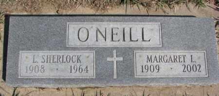 O'NEILL, L. SHERLOCK - Dixon County, Nebraska | L. SHERLOCK O'NEILL - Nebraska Gravestone Photos