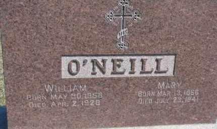 O'NEILL, MARY - Dixon County, Nebraska | MARY O'NEILL - Nebraska Gravestone Photos