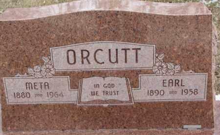 ORCUTT, META - Dixon County, Nebraska   META ORCUTT - Nebraska Gravestone Photos